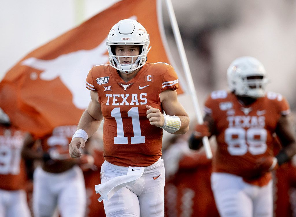 Texas Qb Sam Ehlinger Says New California Bill Is A Great Start Believes Players Should Benefit Off Their Likeness