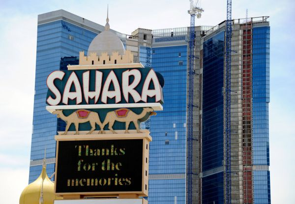Sahara In Vegas Closes With A Whimper