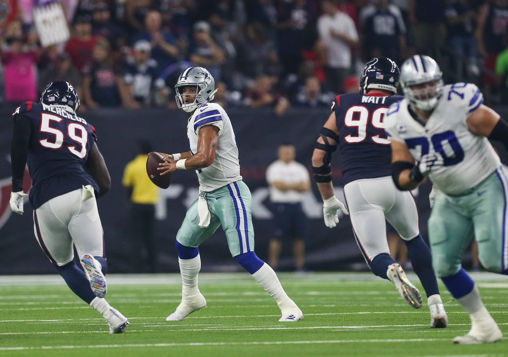 Dak Prescott S 5 Best Throws Of 2018 A Look At The Cowboys