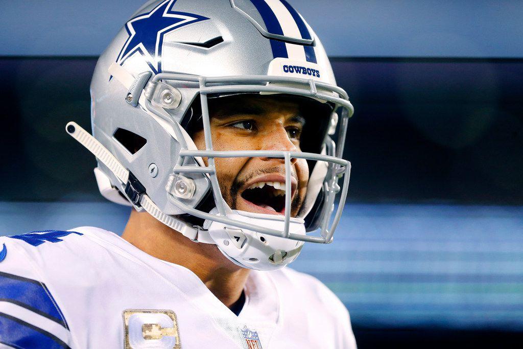 best website e47e5 88127 How Cowboys QB Dak Prescott responded to trash talk from ...