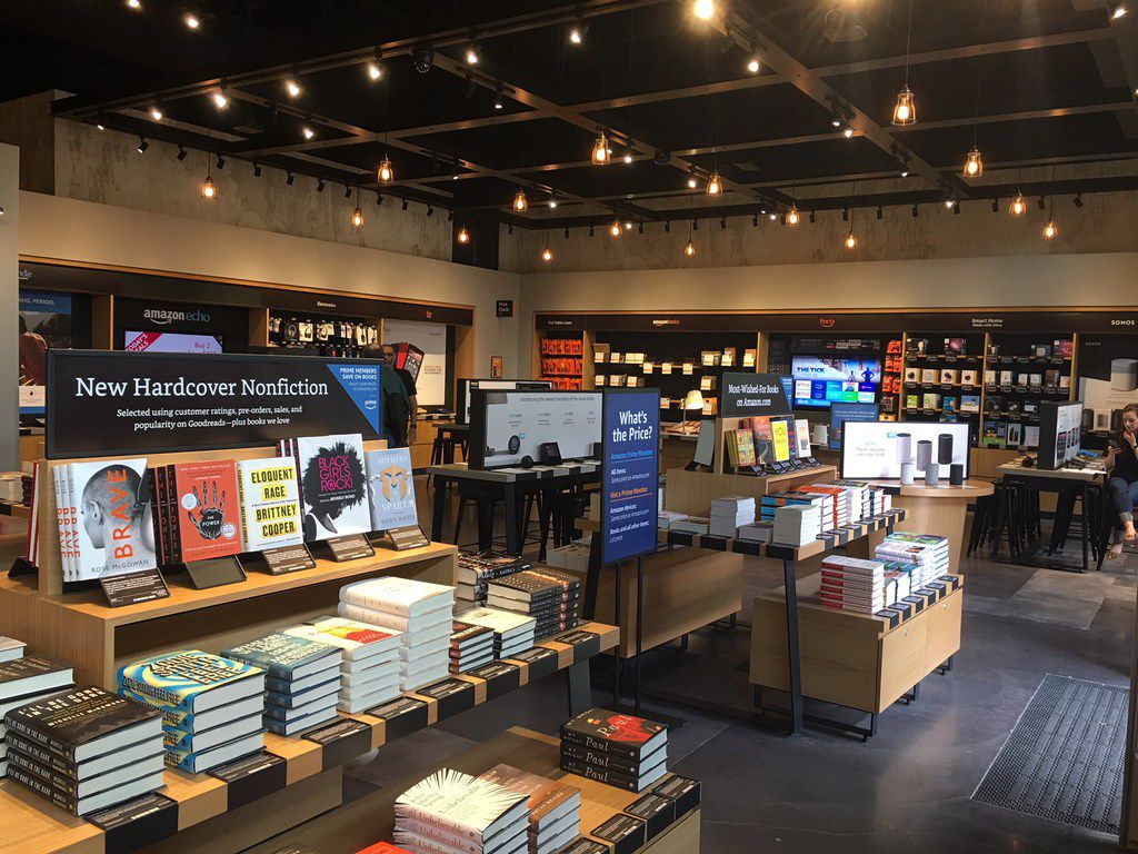 Texas' first Amazon Books store opens in Austin with better
