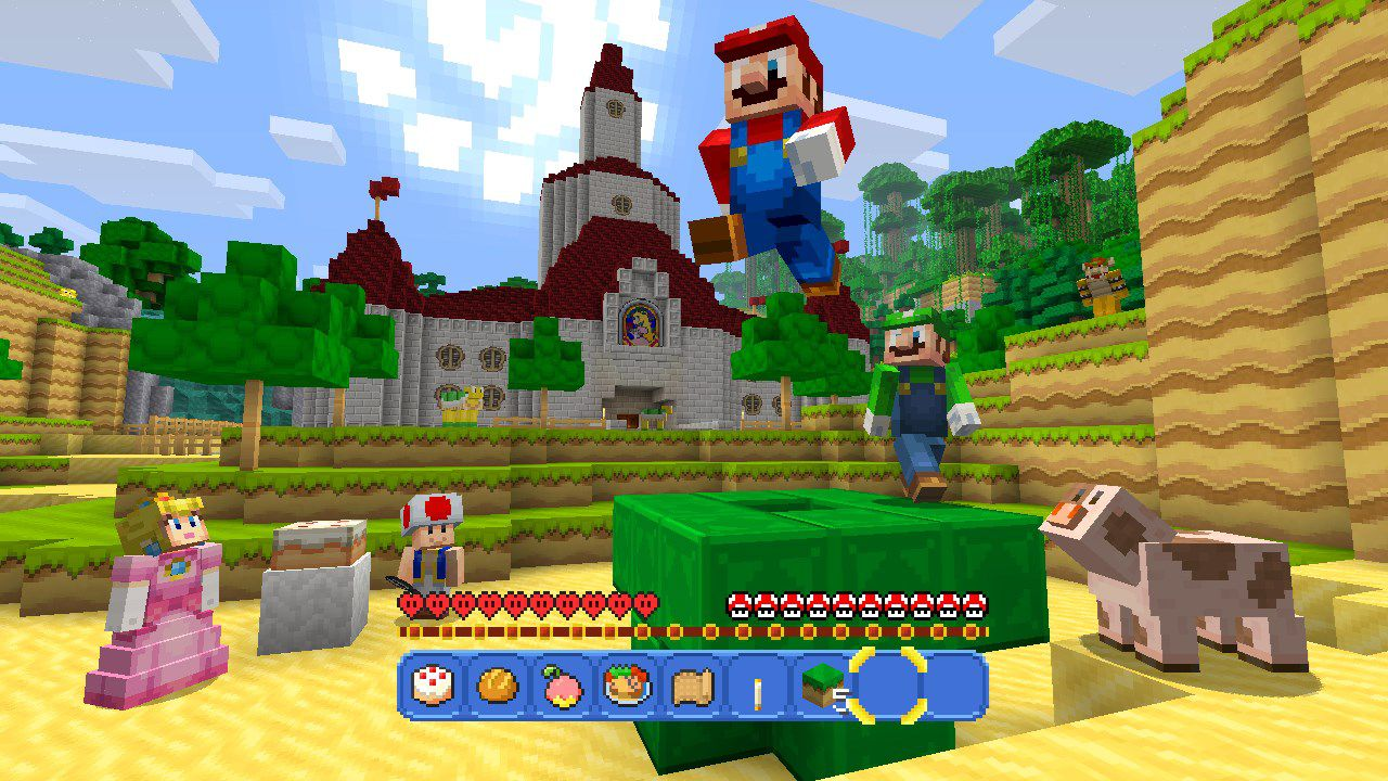 Minecraft Finally Has An Official Super Mario Bros Add On