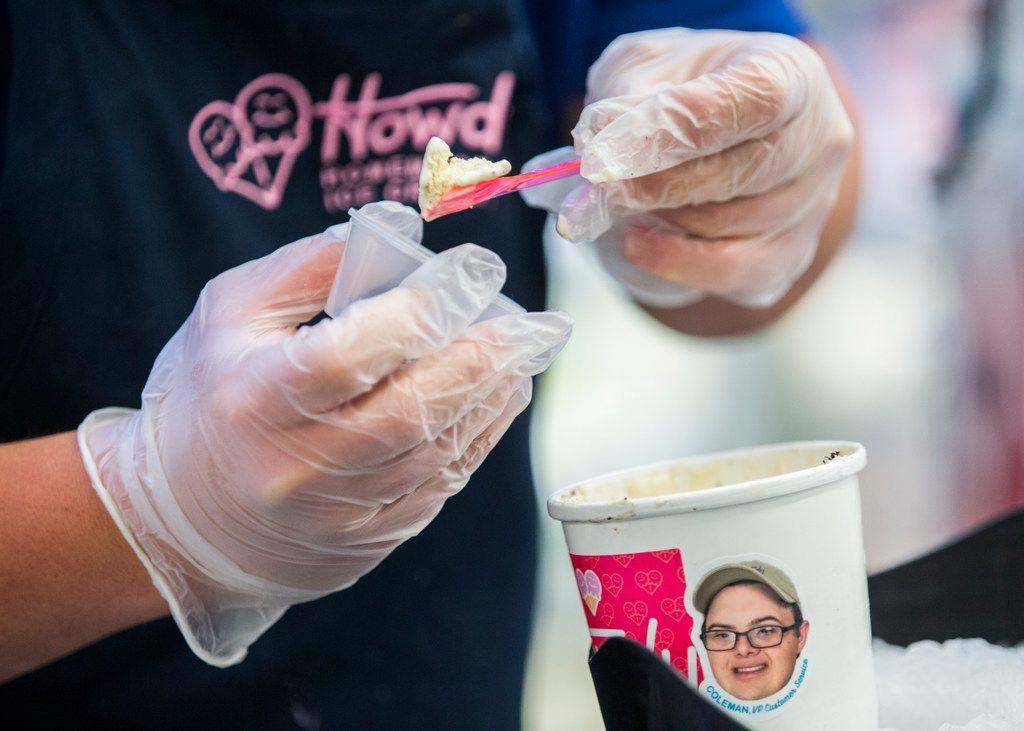 Howdy Homemade ice cream shop near Dallas gets sweet