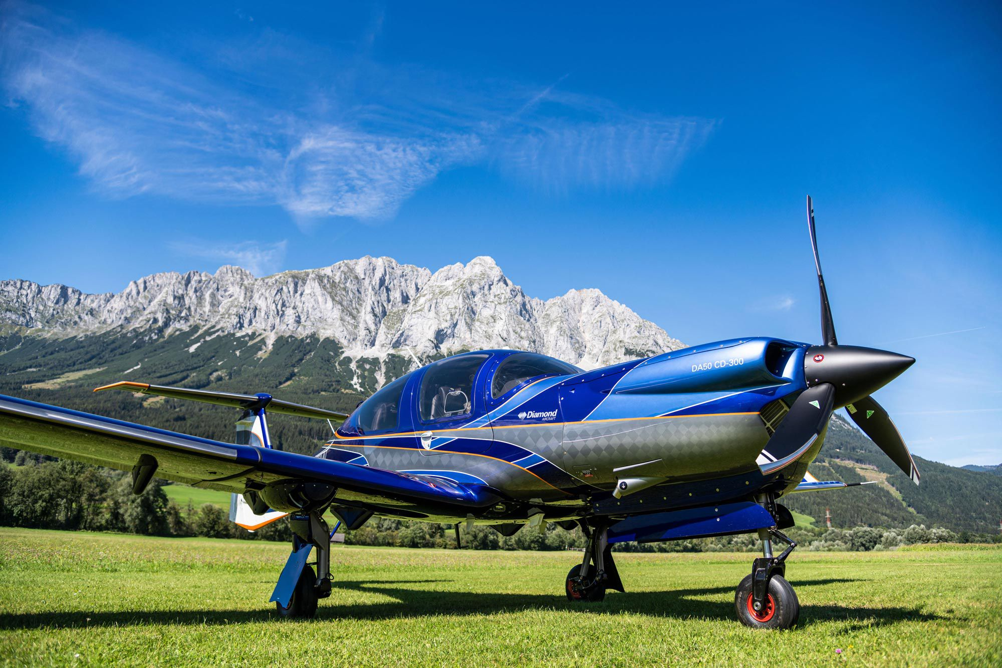 Diamond Scores Easa Approval On Da50 Retract Flying