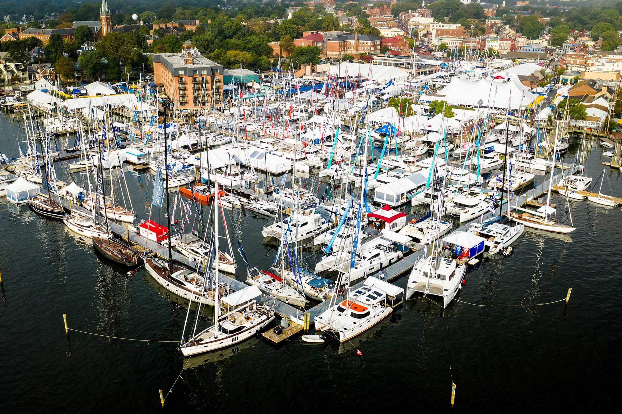Annapolis Boat Show 2020.New Sailboats Make An Annapolis Landfall Cruising World