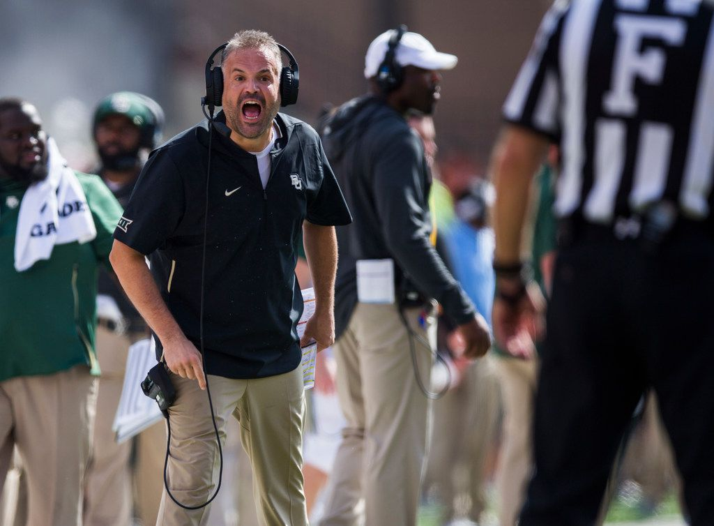Baylor Quotable Why Matt Rhule Says He Took The Wrong