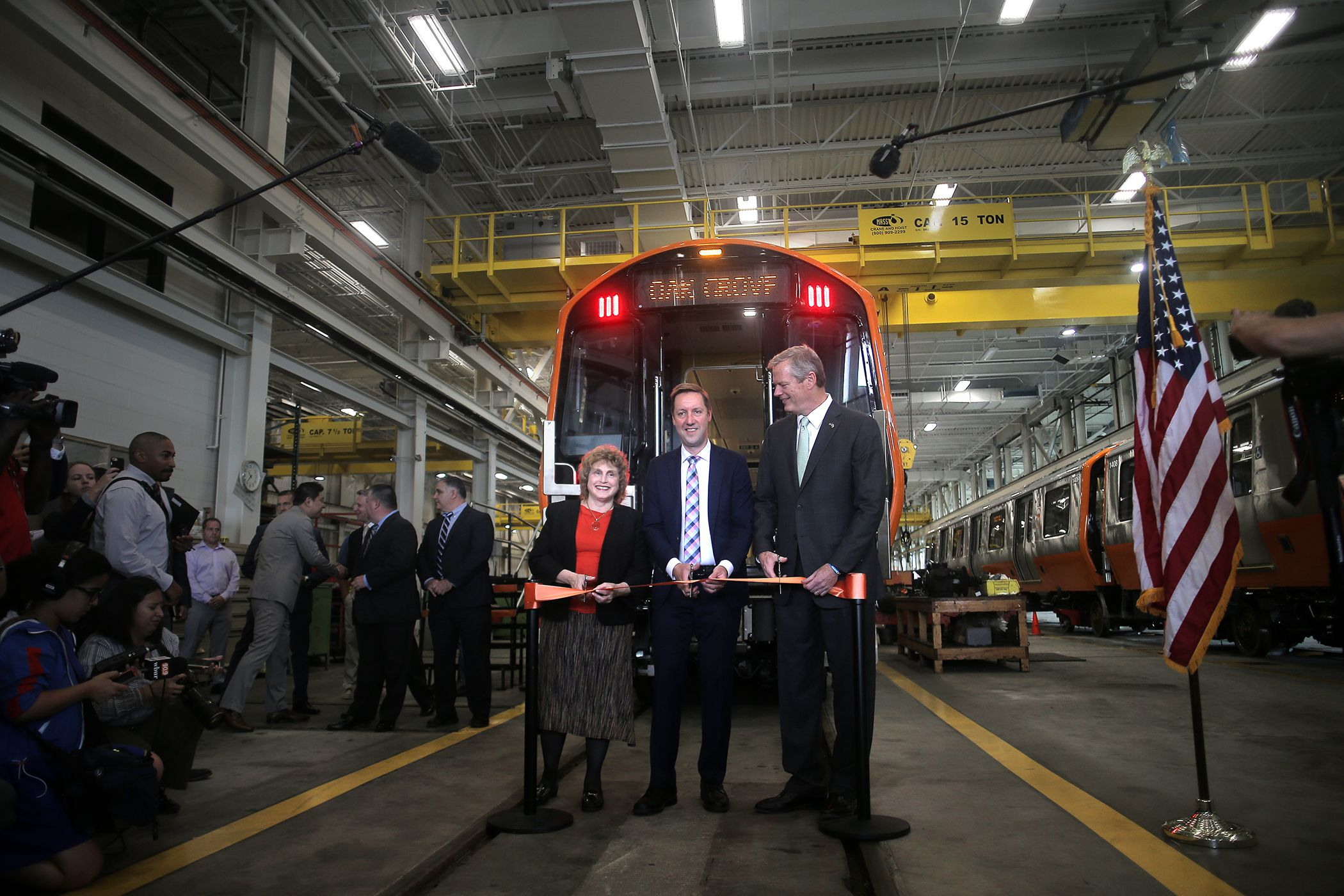 That 'new car smell': Here are the new Orange Line trains