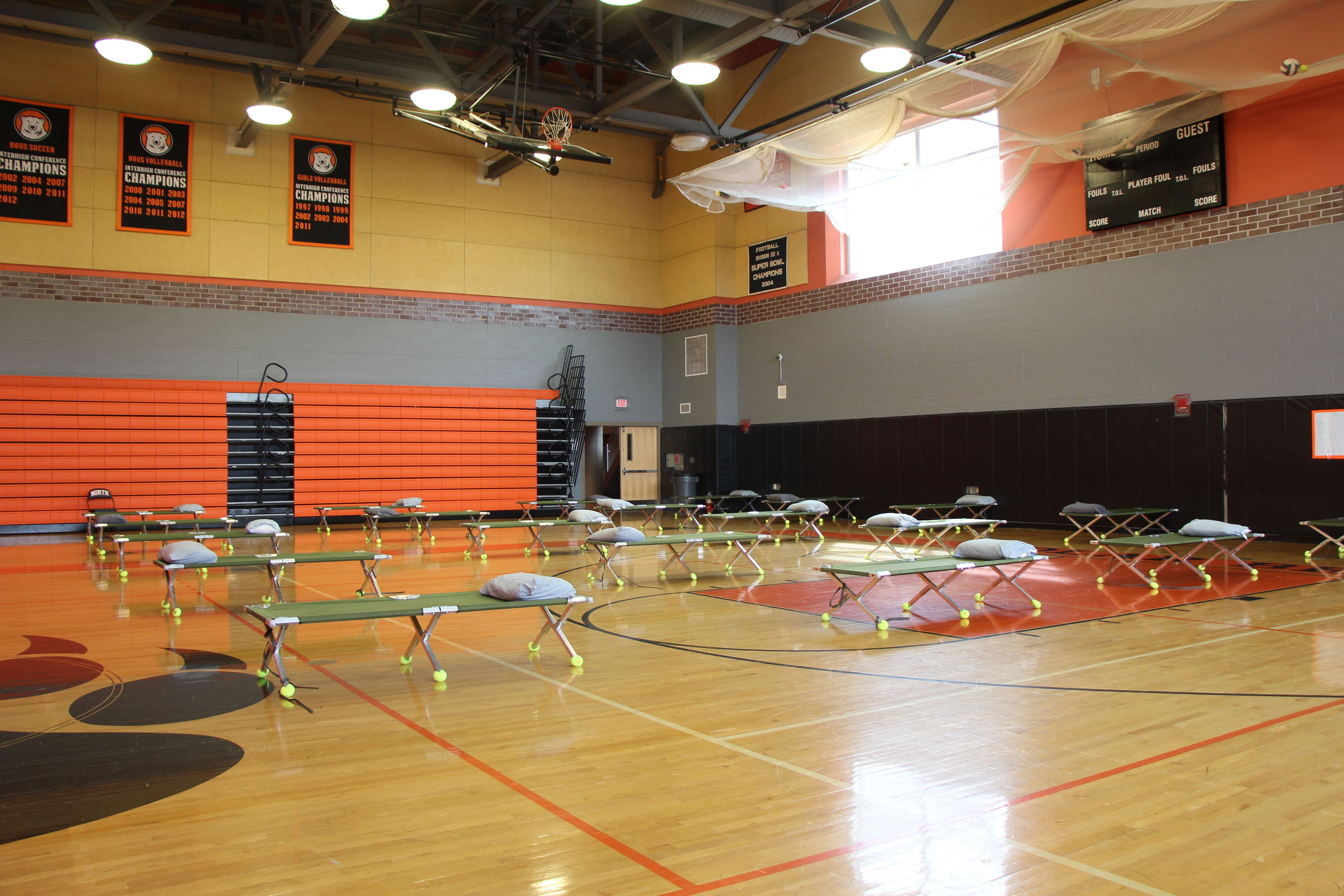 Coronavirus Satellite Shelter Opens At North High School Worcester Has Plan To Keep Homeless Population Healthy During Covid 19 Pandemic Masslive Com
