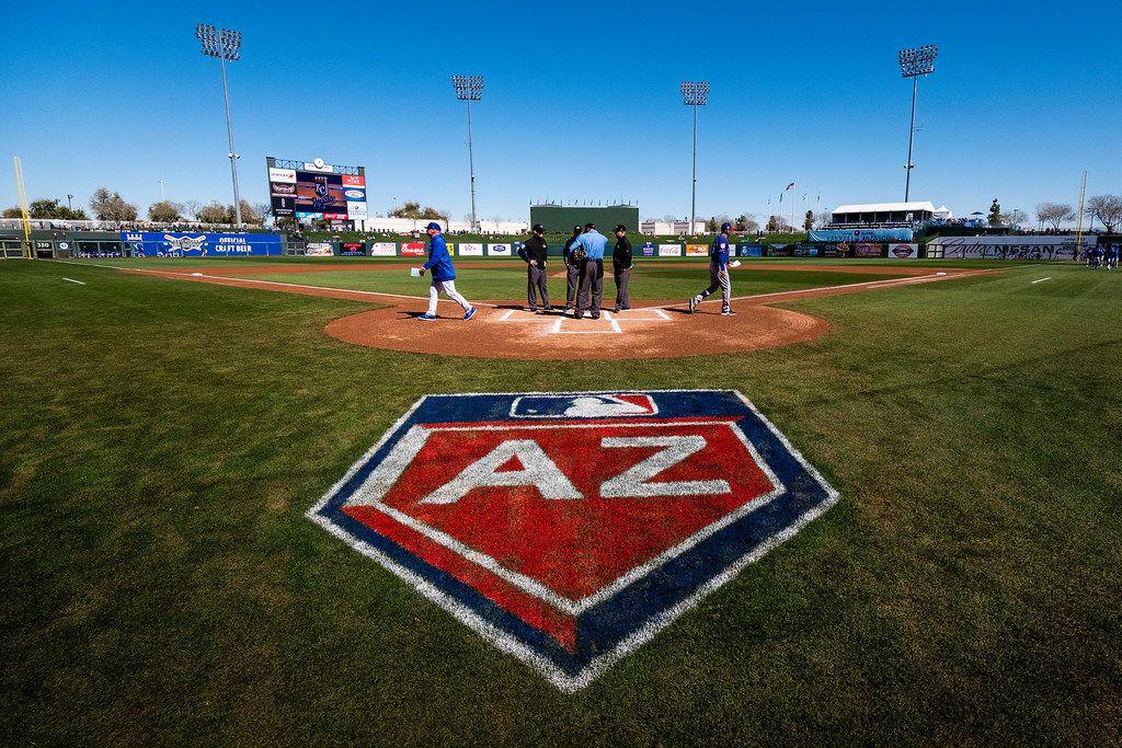 Arizona Diamondbacks Spring Training 2020.Texas Rangers Open Arizona Spring Training Schedule On Feb