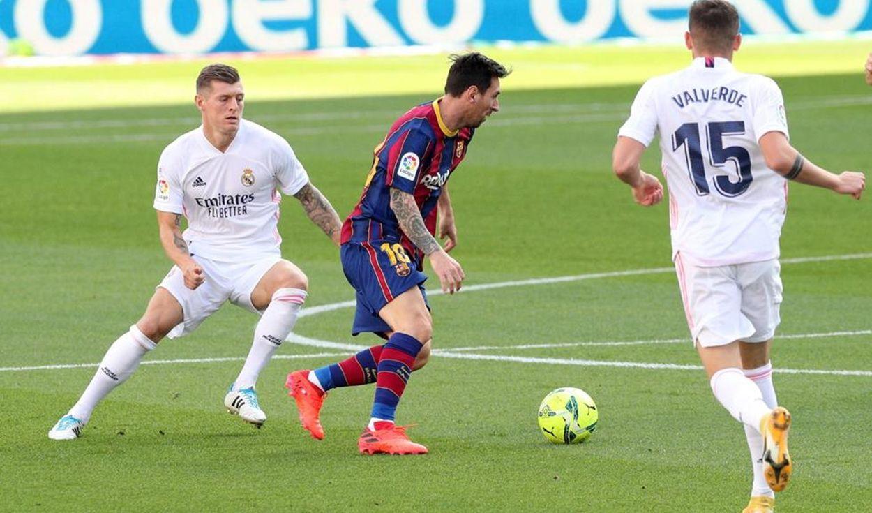 Resultado Barcelona Vs Real Madrid 1 3 Con Todos Los Goles Y Jugadas De Laliga Santander La República